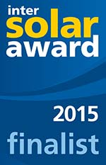 Intersolar Award Finalist 2015